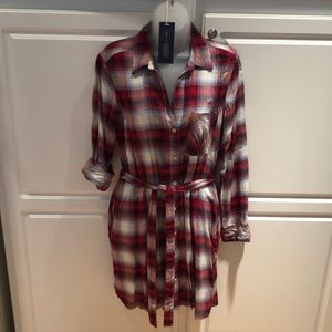 NWT Gap + Pendleton plaid shirt dress. Size small